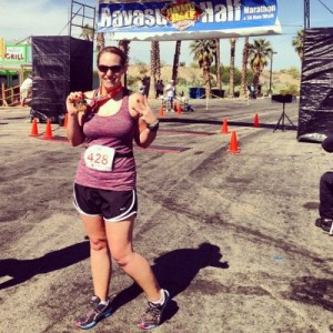 Havasu Half Marathon, running