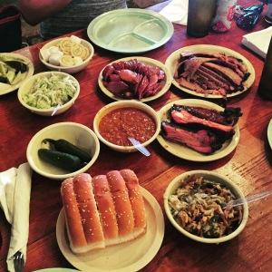 Salt Lick BBQ Feast