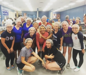 Community Service at Feed My Starving Children with Phi & Omega Iota